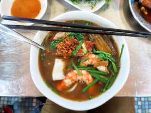 Noodles and such in Ho Chi Minh City